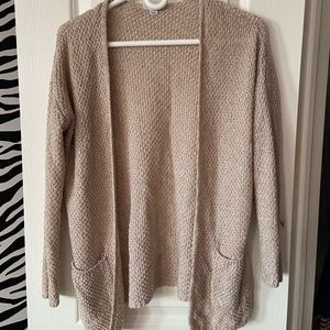 Tan Knitted Cardigan from Garage